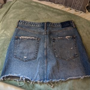 Abercrombie & Fitch Skirts - Natural Rise Denim Skirt Abercrombie & Fitch